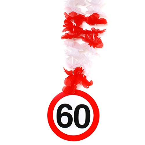 Prijs op steel verjaardag Hawaii ketting 60