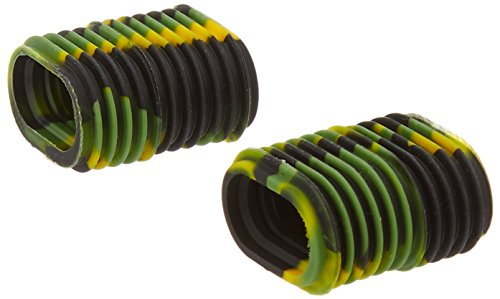 Reel Grip 1139 Reel Handle Cover, Green and Yellow Tie Dye Finish