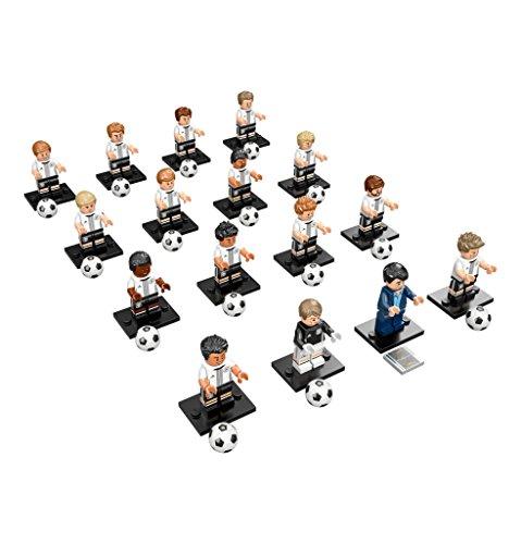 Lego 71014. Euro Germania. Collezione 16 minifigure
