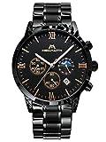 Montre Homme Noir Montres Bracelet Militaire Sport Etanche ChronographeMontres en...
