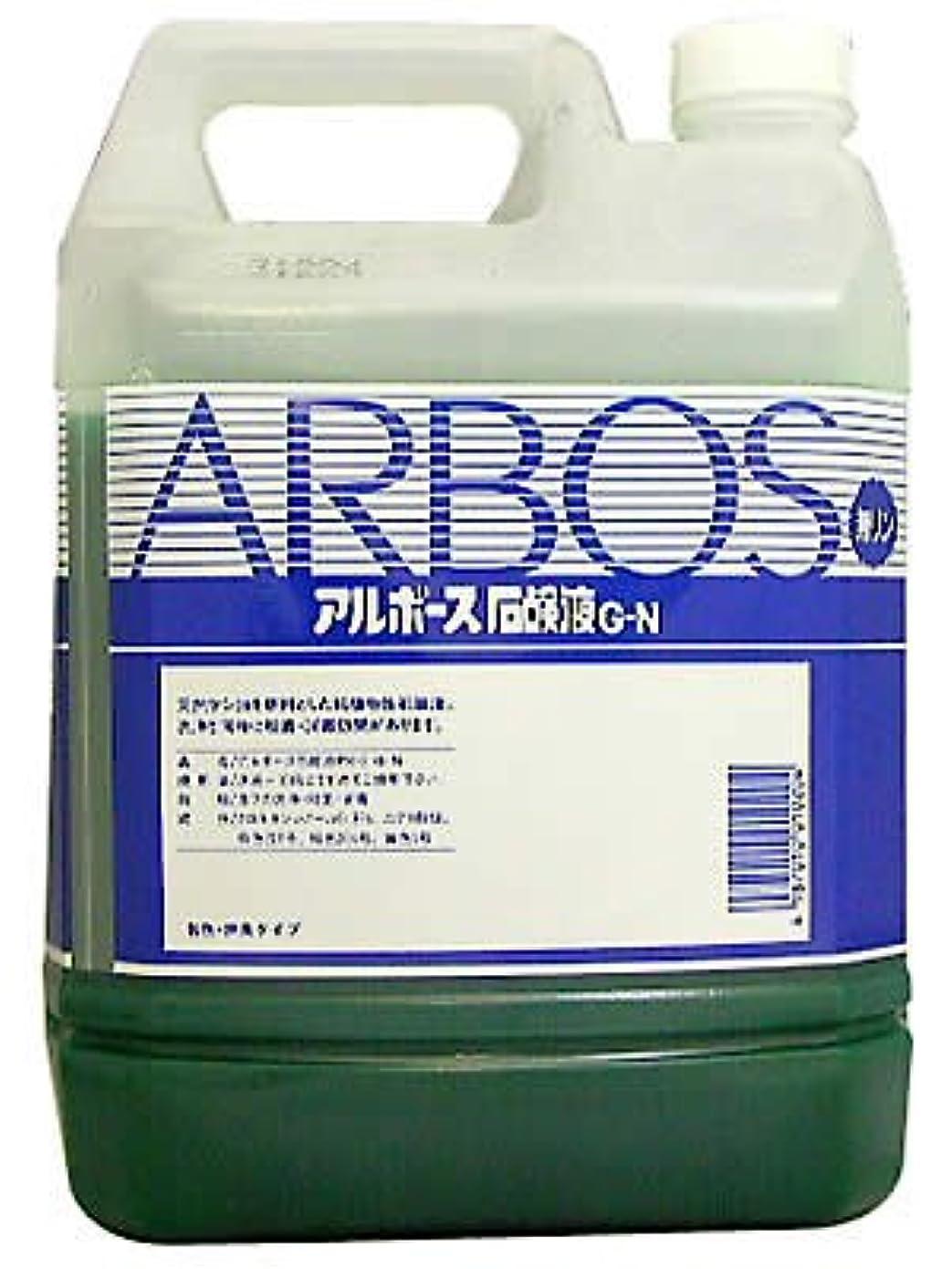 野なタッチ遊具アルボース石鹸液G-N 010204kg / 6-8601-01