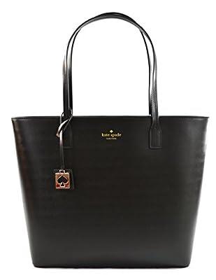 Kate Spade Karla Beech Street Smooth Leather Tote Shoulder Bag Purse Handbag