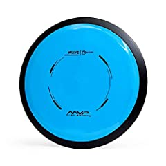 MVP WAVE - The Wave is a stable-understable high speed distance driver best described as a longer MVP Inertia. STABLE-UNDERSTABLE DISTANCE DRIVER - The Wave's understable flight can be useful for players of all skill levels, either high power hyzer f...