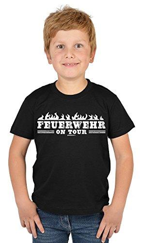 Jungen/Feuerwehr-Spaß-Shirt/Boy-Shirt lustige Sprüche Berufe: Feuerwehr on Tour