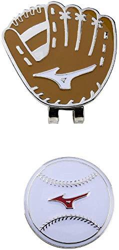 MIZUNO(ミズノ) ゴルフ グリーンマーカー マルチスポーツ 野球タイプ ユニセックス ブラウン 5LJD192200