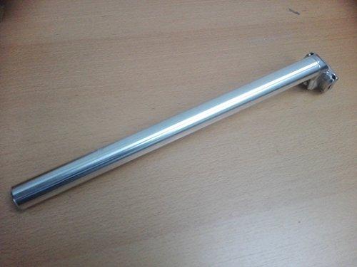 Kalloy UNO Aluminium Sattelstütze Patent Fahrrad, Länge 400 mm, Silber, Verschiedene Durchmessrer (26,8mm)