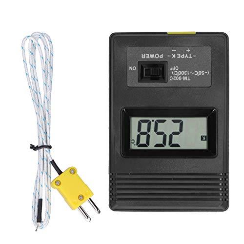 Termómetro ambiental con pantalla LCD Termómetro digital TM902C Termómetro para pecera