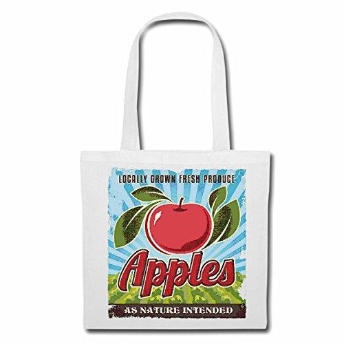 Tasche Umhängetasche Apfel APFELBAUM Obst DIÄT Kalorien FRÜCHTE Apple Granatapfel DIÄT ABNEHMEN Kalorien Figur Fitness BMI FETTGEWEBE DICK DÜNN Figur BETONT Bauchumfang Einkaufstasche Schulbeutel T