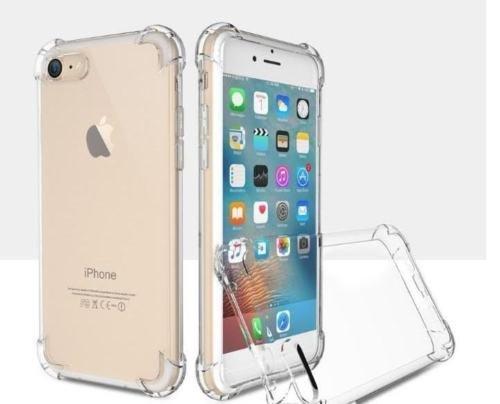 Unbekannt Carcasa Trasera antichoque Transparente para Apple iPhone 6 de 4,7 Pulgadas Apple iPhone 6S Apple iPhone 6, Carcasa de Silicona Transparente