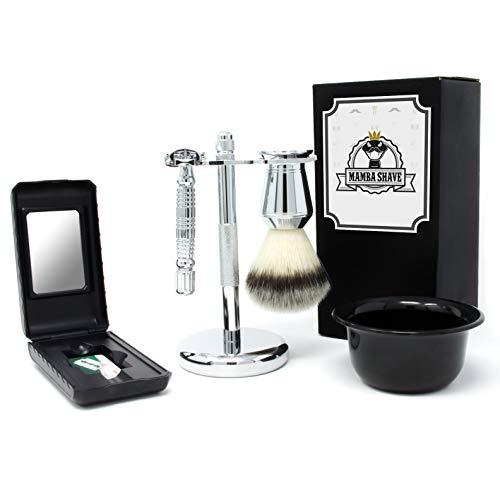 Navajas Barbería marca Mamba Shave