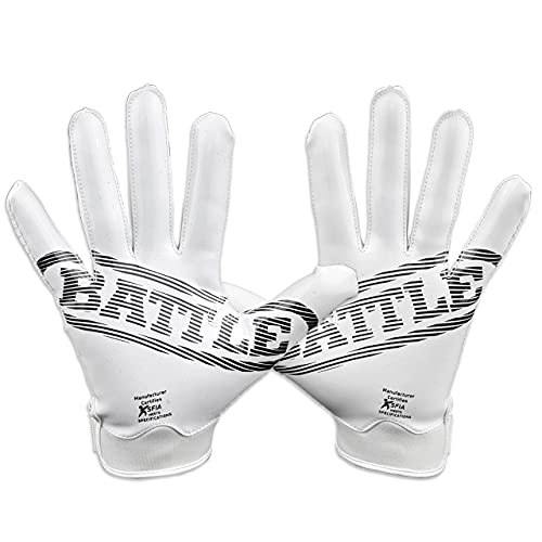 Battle Sports Doom 1.0 Football Receiver Gloves for Adults