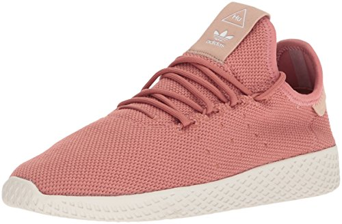 adidas Women's PW Tennis HU W Sneaker, Ash Pink/Ash Pink/Chalk White, 9 Medium US