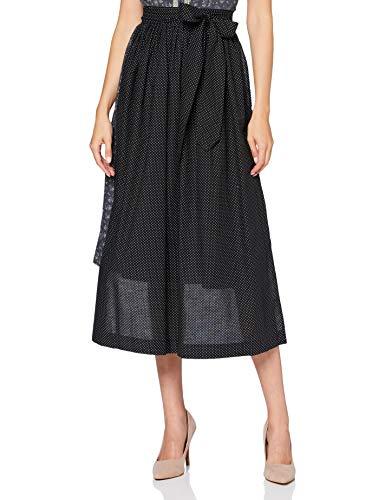 BERWIN & WOLFF TRACHT FOLKLORE LANDHAUS Damen 29904 Kleid, Schwarz, Länge 93 cm