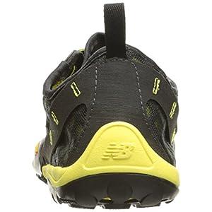 New Balance Men's MT10V1 Minimus Trail Running Shoe, Grey/Yellow, 10 D US