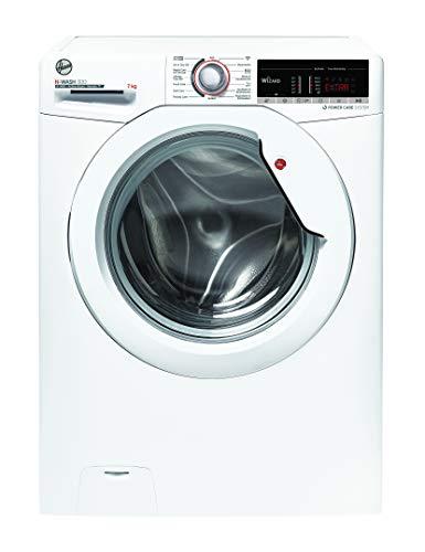 Hoover H-WASH 300 H3 WSQ473 TAE-84 Waschmaschine / 7 kg / 1400 U/Min / Smarte Bedienung mit Wi-Fi + Bluetooth / deutsche Bedienblende / All in One Programm / ActiveSteam Dampffunktion