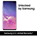Samsung Galaxy S10+, 512GB, Ceramic Black - Fully Unlocked (Renewed)