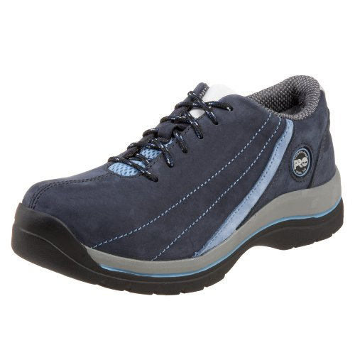 Timberland PRO Women's Riveter Steel-Toe Lace-Up,Navy,11 M US