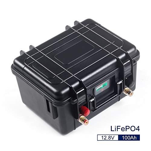 12V 100Ah Zyklen Lifepo4 Lithium-Eisen-Phosphat-Akku-Pack BMS Built-in for Golfwagen EV RV Solarenergie-Speicherbatterie