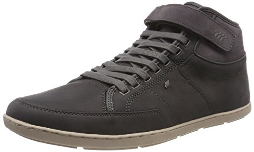 Boxfresh Herren Swich Blok Hohe Sneaker, Grau (Charcoal Grey Chrcl), 44 EU