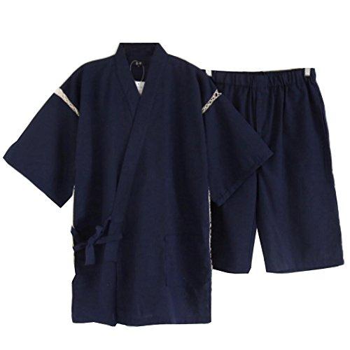 Traje de Pijama Kimono de Estilo japonés para Hombre I