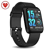 Best blu Watch Phones - DoSmarter Fitness Tracker with Heart Rate Monitor, Waterproof Review