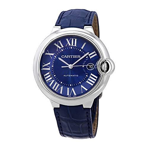 Cartier Ballon Bleu Reloj automático para hombre con esfera azul WSBB0025