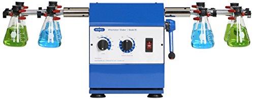 Burrell Scientific 075-795-08-36 Wrist Action Shaker, Model 95-BB, Variable Speed, Blue/White