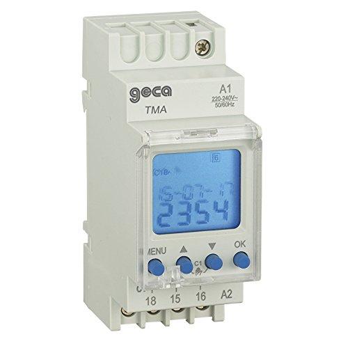 GECA 32152389 - Interruptor horario digital astronómico (2 canales)
