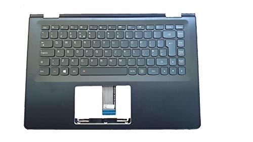 Compatible Para Lenovo Yoga 500-14IHW 500-14ISK Flex 1470 1435GB Reemplazo Reposamanos Caja Superior