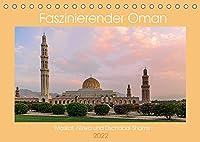 Faszinierender Oman (Tischkalender 2022 DIN A5 quer): Omans Bauwerke und Sehenswuerdigkeiten (Monatskalender, 14 Seiten )