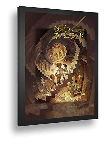 Quadro Decor Poster Anime Yakusoku Promised Neverland 2