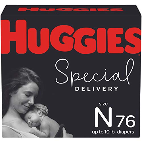 Huggies Special Delivery Hypoallergenic Baby Diapers Size Newborn 76 Ct