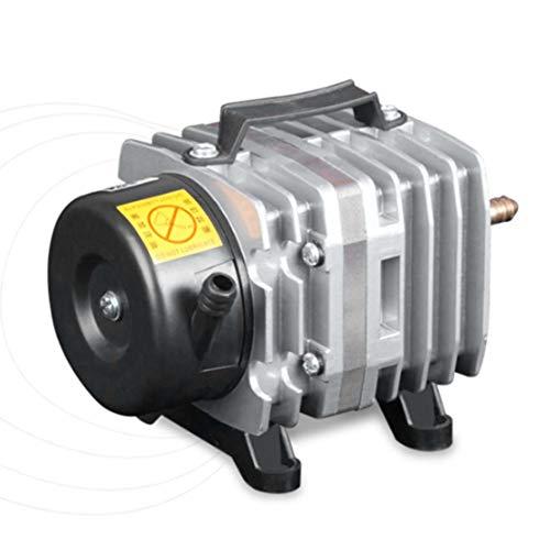 BiaBai 220V 18W 38L / Min bomba de aire de acuario compresor de aire electromagnético tanque de peces granjas bomba de oxígeno para estanque accesorios de acuario
