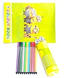 PP Kids Favorite Minions Fan Club Complete Gift Set of Minion Printed Pencil