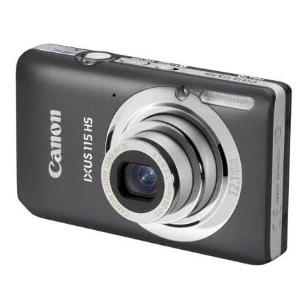 Canon Ixus 115 Hs Digitalkamera 3 Zoll Grau Kamera