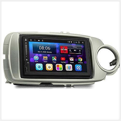 TUNEZ® MirrorLink Lecteur MP3 pour voiture Android compatible avec Toyota Yaris 3e génération XP130 2012 2013 2014 2015 2016 2017