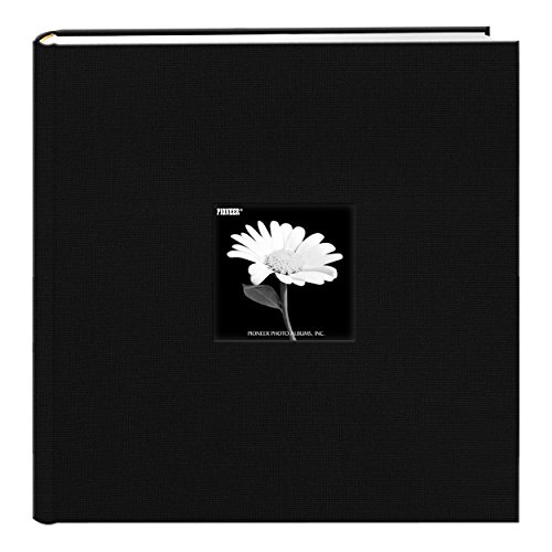 Pioneer Photo Albums Extra Large Capacity Photo Album, 4' x 6', Black