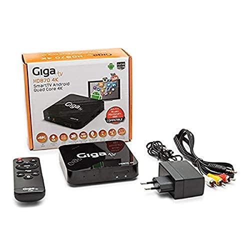 GIGA TV HD870 4K - Ordenador de Sobremesa