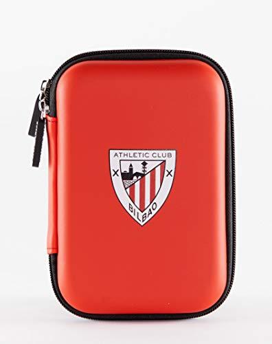 Athletic Club de Bilbao- Funda universal para HDD, discos duros, powerbank, cables, auriculares y accesorios tecnológicos.