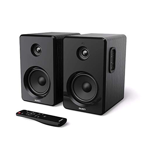 Majority D40 Active Bookshelf Speakers Pair of Powered Stereo Hifi Book...