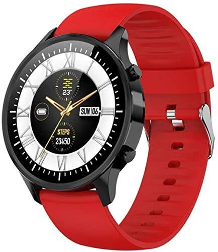 DHTOMC Reloj inteligente de 1.3 pulgadas de alta definición de pantalla grande táctil impermeable fitness tracker sueño monitoreo pulsera inteligente