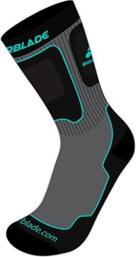 ROLLERBLADE PERFORMANCE W Socken grey/watergreen, S