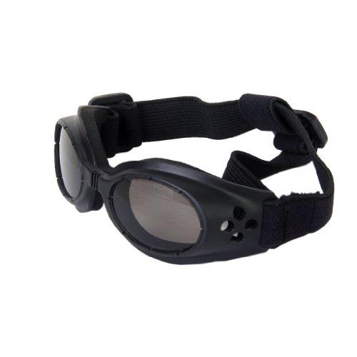 Lunettes de Protection UV Lunettes de Soleil pour Chien - Noir
