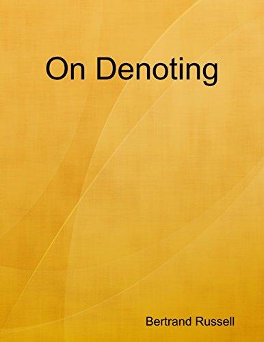 On Denoting (English Edition)