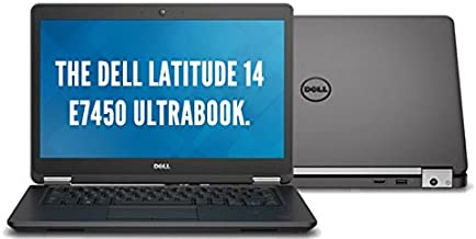 Dell Latitude E7450 UltraBook HD Business Laptop NoteBook PC (Intel Quad Core i7-5600U, 8GB Ram,...