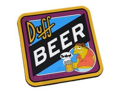 Barney Gumble'Duff Beer' Posavasos antideslizante (Los Simpsons)
