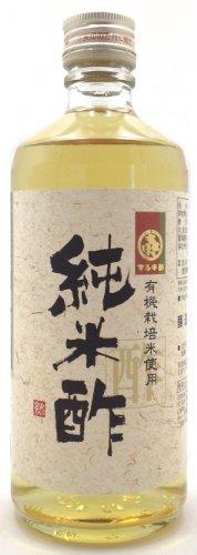 川上酢店 有機栽培米使用 純米酢 500ml