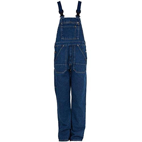 Eiko 4607 Gr. 52 Arbeitshose Jeans - Latzhose, 100% Baumwolle