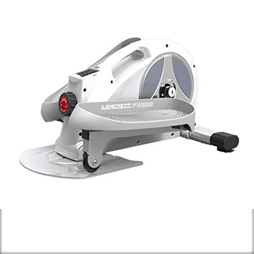 Zavddy Maquina Eliptica Inicio Máquina elíptica Mini Máquina de pérdida de Peso Máquina Cochecito Crovepipe Equipo de Fitness Mute Home Stepper Adecuado para Entrenamiento Cruzado