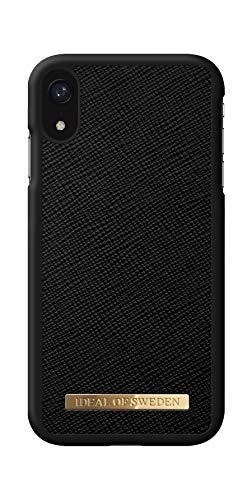 IDEAL OF SWEDEN Handyhülle für iPhone XR (Saffiano) (Black)